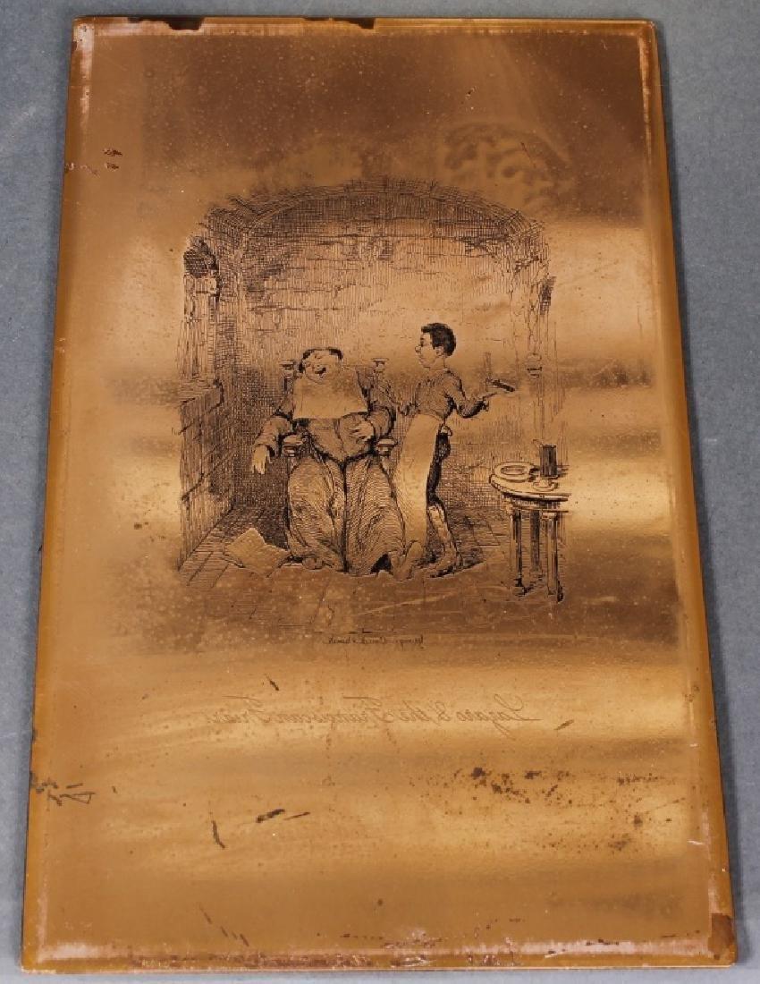 G. Cruikshank engr. copper plate - 1837 - 2