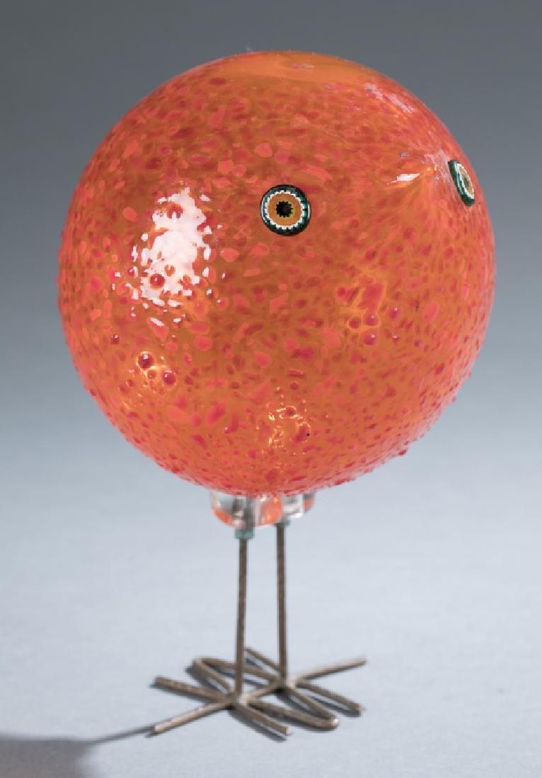 Alessandro Pianon, Pulcini, art glass bird.