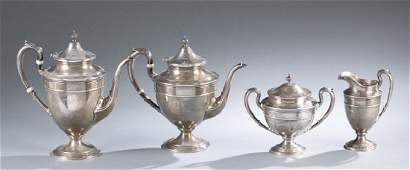 Gorham Edgeworth Sterling tea set 4 pcs