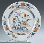 Chinese export Imari plate.