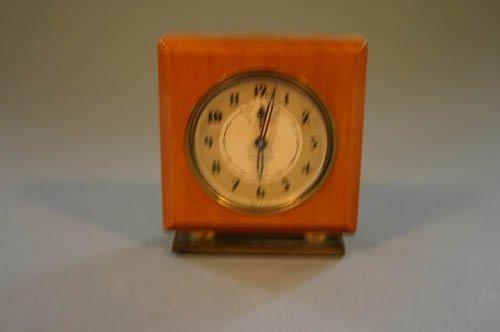5517: Seth Thomas wind-up small alarm clock, c. 1930