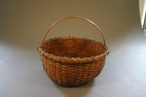 5522: Split oak egg gathering basket