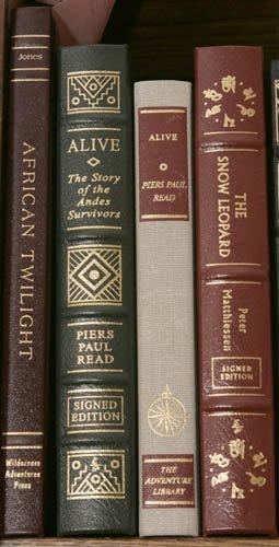 2001: [ADVENTURE]. 4 Signed Books. Fine condition.