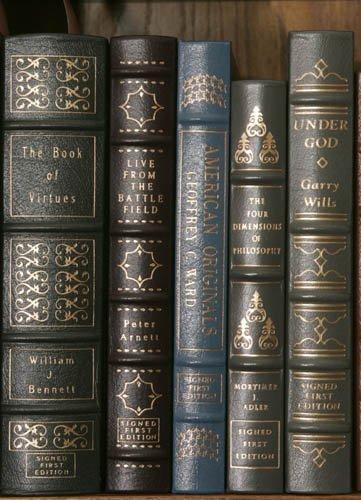 2008: [MEMOIRS]. 5 Signed Books. Norwalk: Easton Pr