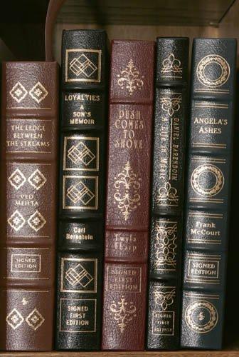 2009: [MEMOIRS]. 5 Signed Books. Norwalk: Easton Pr