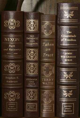 2012: [POLITICS]. 4 Signed First Editions. Norwalk: