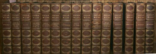 2019: WILDE, Oscar. The Writings. Uniform Edition.