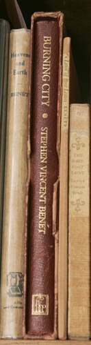 2023: BENT, Stephen Vincent. 4 First Editions. ++