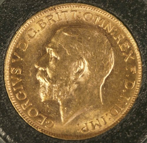 3505: British Canada sovereign gold coin, XF, 1911