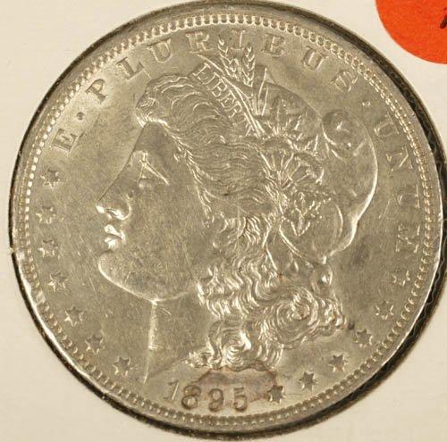3520: Morgan dollar AU or better, 1895-O.