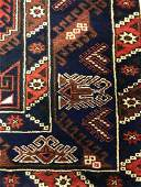 Turkish geometric Anatolian rug.