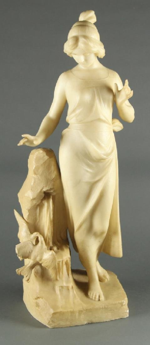 Neoclassical Marble Sculpture, c.19th/20th.