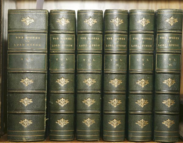 1009: The Poetical Works of Lord Byron. Lon: 1855-56.