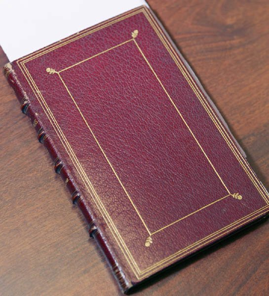 1017: Thomson, The Seasons, 1806, with painted foreedge