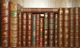 1034 16 vols Thoreau Aristophones  others leathe