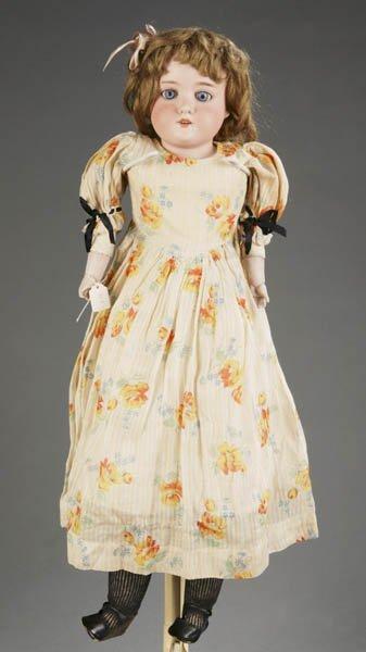 802: Armand Marseille bisque shoulder head doll #370