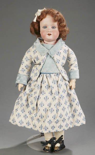 803: Armand Marseille bisque shoulder head doll #370