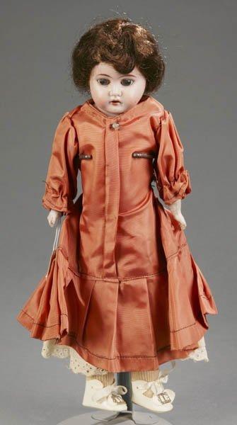 805: Ernst Heubach bisque shoulder head doll
