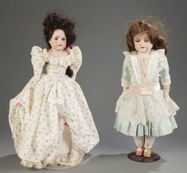 814: Pair of Armand Marseille Florodora Dolls