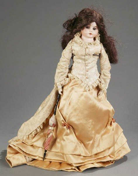 815: Ernst Heubach bisque shoulder head fashion doll