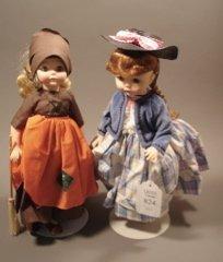 824: 2 Madame Alexander Dolls
