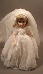825: Madame Alexander Bride Doll # 1534