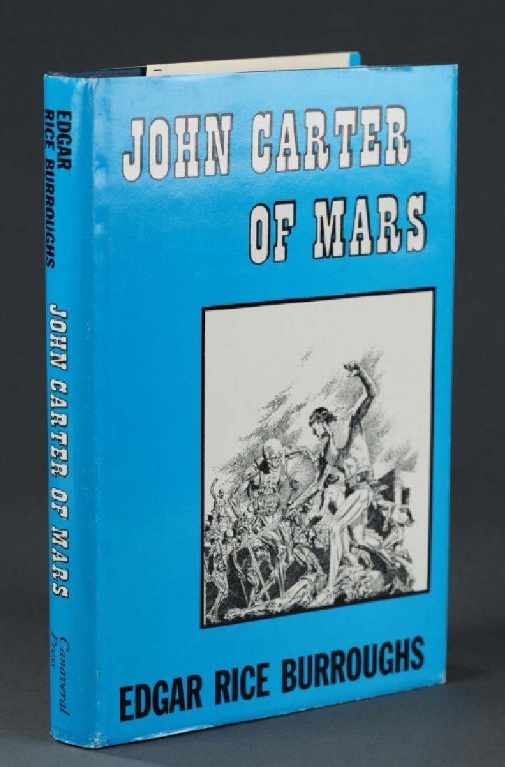 Burroughs JOHN CARTER OF MARS. 1964. 1st state bdg