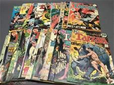 24 issues of Tarzan comic books, 1972-1974.