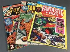3 Special issues of Fantastic Four 19711974