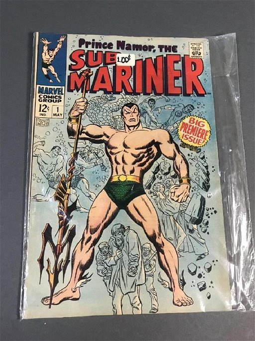 Sub- Mariner, Prince Namor, Vol  1, No  1, May 196