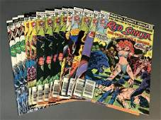 14 issues of Red Sonja and Marvel Feature