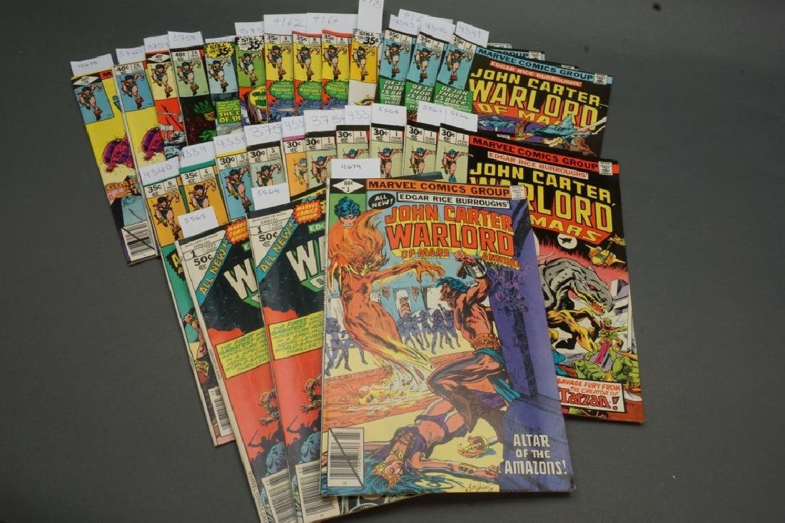 27 issues of John Carter Warlord of Mars