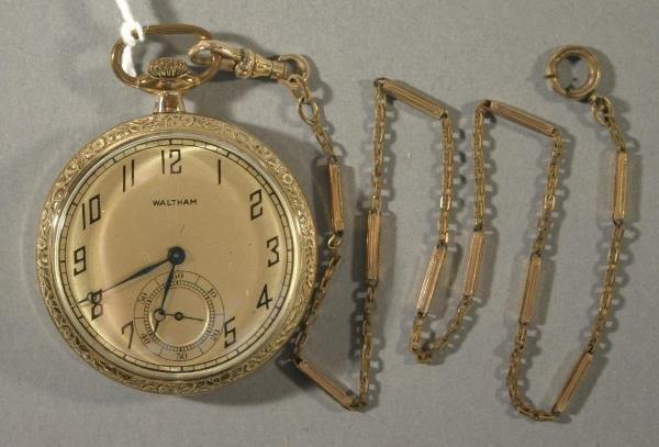 001: An American Waltham Watch Co. Model 1897 size 12 p