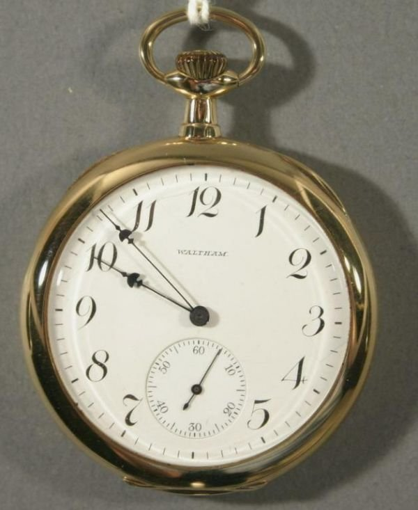 "002: An American Waltham Watch Co. ""Riverside Maximus"""