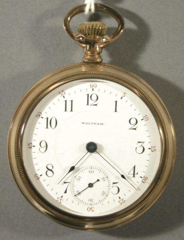 006: An American Waltham Watch Co. size 18 railroad wat
