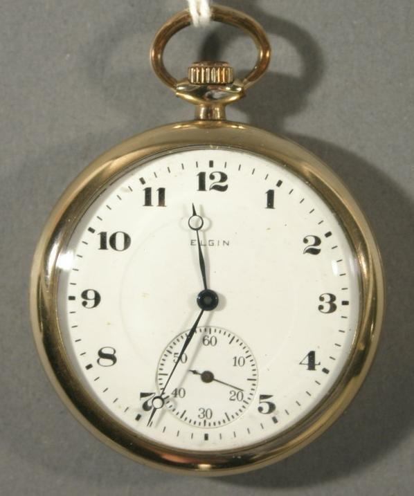 009: An Elgin Watch Co. size 12 pocket watch