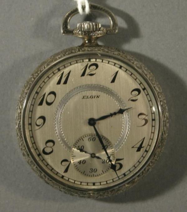 011: An Elgin Watch Co. size 12 pocket watch