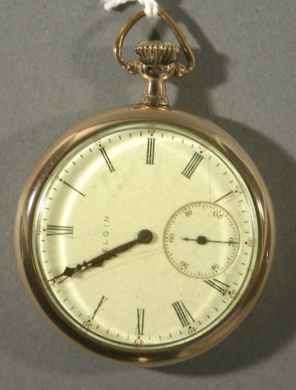 012: An Elgin Watch Co. size 12 pocket watch