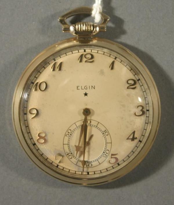 014: An Elgin Watch Co. size 16 pocket watch