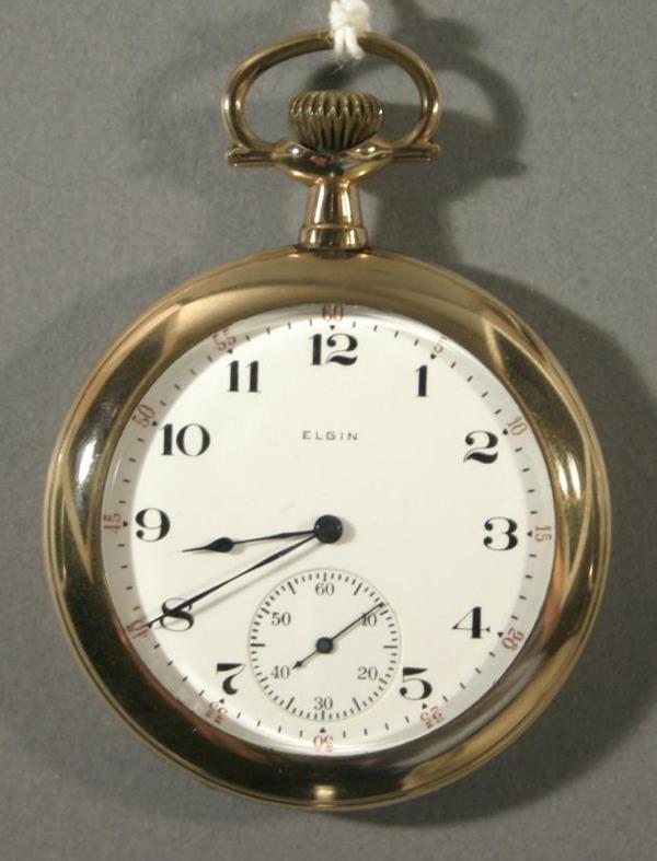 015: An Elgin Watch Co. size 16 pocket watch