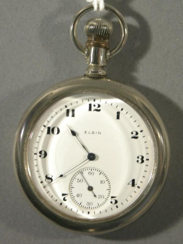 017: An Elgin Watch Co. size 16 pocket watch
