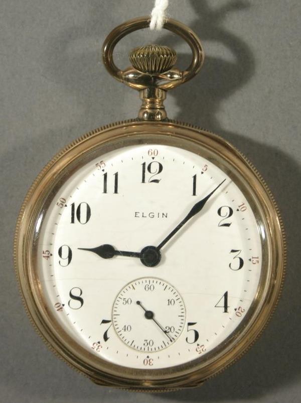 020: An Elgin Watch Co. Model 9 size 16 pocket watch