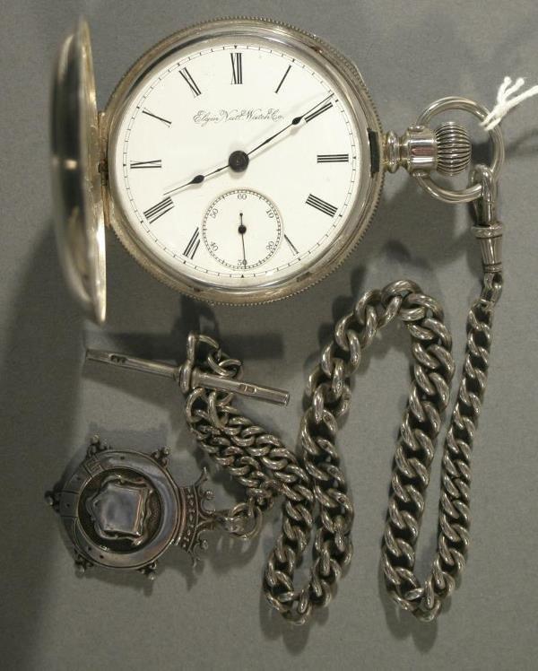 021: An Elgin Watch Co. size 16 pocket watch