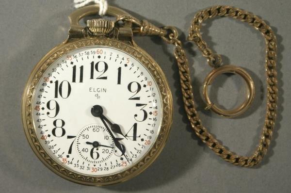 022: An Elgin Watch Co. size 16 Railroad watch
