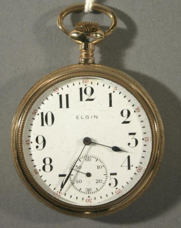 023: An Elgin Watch Co. Model 7 size 16 watch