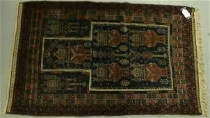 370: An Afghan Baluchi old prayer rug