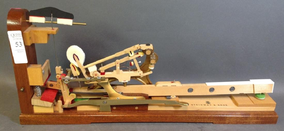 Steinway & Sons piano action model