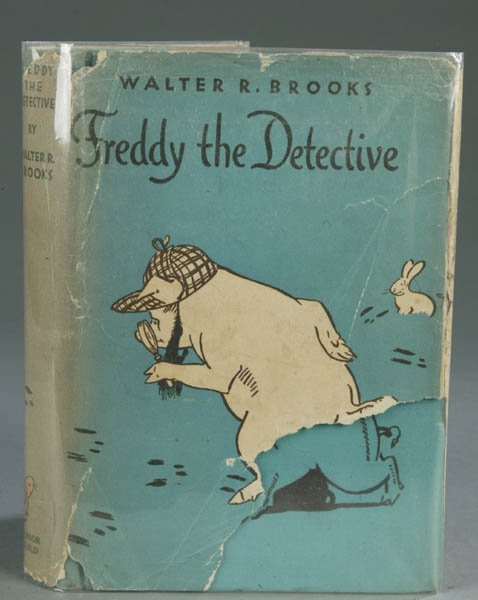 57: BROOKS. Freddy the Detective, 1932, 1st edition.