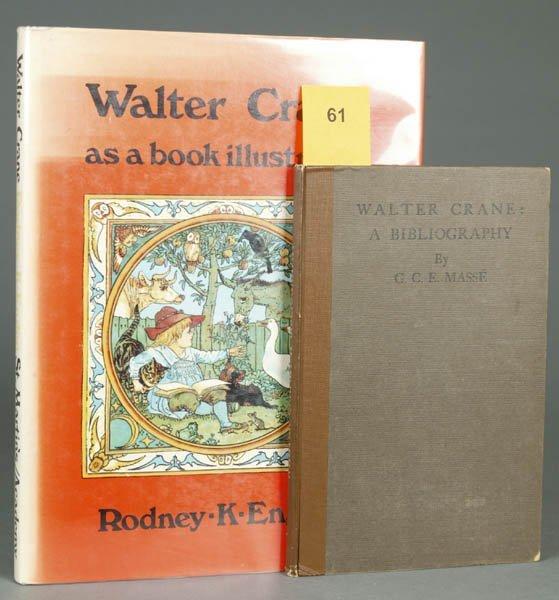 61: [CRANE, Walter]. 2 First Editions. ++ Gertrude