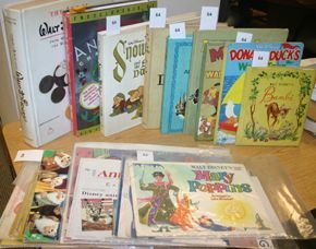 64: Disney books, etc.: 19 items. Snow White, etc.